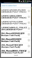 Screenshot of ER Designs Fonts Pack (Update)