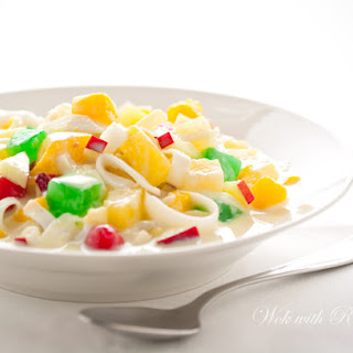 Fruit Salad With Condensed Milk And Whipped Cream Recipes