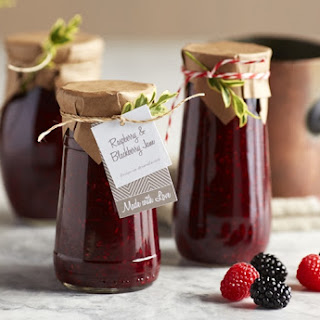 Spiced Blackberry Raspberry Jam