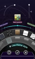Screenshot of Next Launcher Theme  3D Magic
