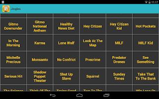 Screenshot of No Agendroid - No Agenda App