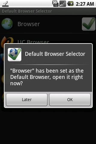 Default Browser Selector free