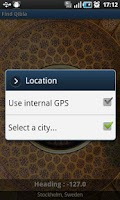 Screenshot of Find Qibla Pro
