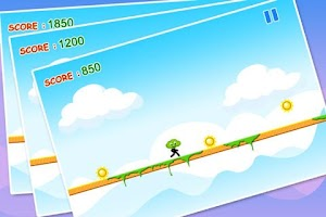 Screenshot of Green Cloud Runner - Free