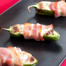 Bacon-Wrapped Stuffed Jalapenos