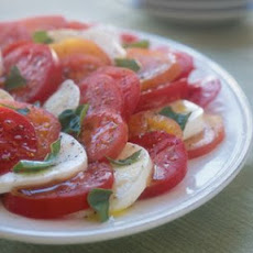 Tomato, Basil and Mozzarella Salad