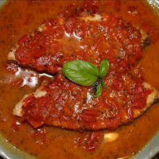 Swordfish steaks with Tomato-Basil Sauce