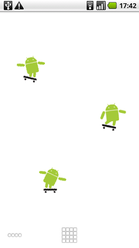 Droid-Skater Live Wallpaper