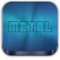 Download Metal Free(APEX NOVA GO THEME) APK to PC