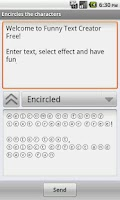 Screenshot of Funny Text Creator