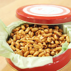 Todd Porter's Ginger and Garlic Roasted Peanuts