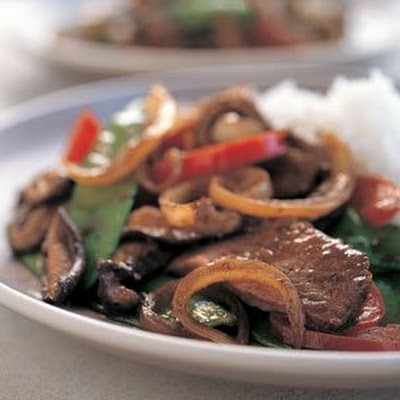 Beef Stir-Fry with Black Bean Sauce