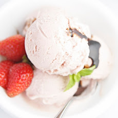Strawberry Balsamic Gelato