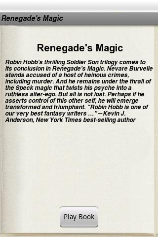 Renegade's Magic