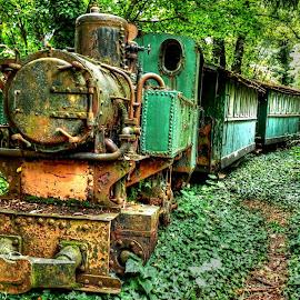 Litlle old train..  by Željko Salai - Instagram & Mobile Other
