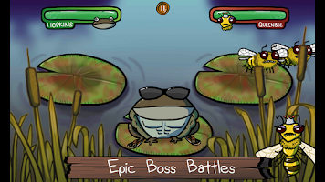 Screenshot of Frantic Frog HD