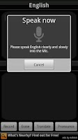 Screenshot of BabelFish Voice: Polish