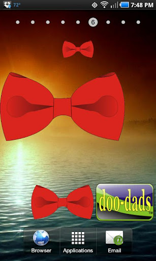 Bow Tie Red doo-dad
