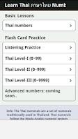 Screenshot of Learn Thai Numbers, Fast!