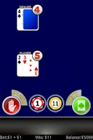 Screenshot of Blackjack +3 FREE