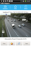 Screenshot of Traffic Cam Singapore FREE