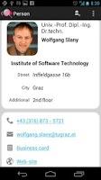 Screenshot of TU Graz Search