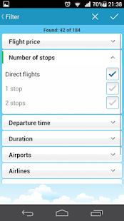 Flights APK for iPhone