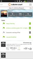 Screenshot of Calorie Counter