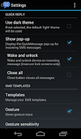 Screenshot of 8sms (Stock Messaging, KitKat)