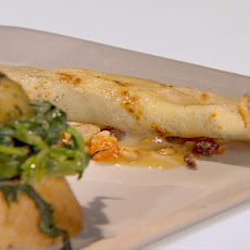 Challenge: Chocolate Crepe with Tangerine Dried Red Chili Sauce