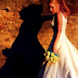 ...sunset bride... by Jelena Čolaković - Wedding Bride