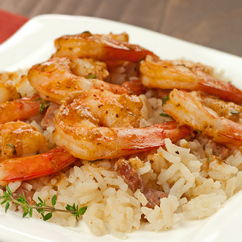 Old Bay Shrimp Sauté