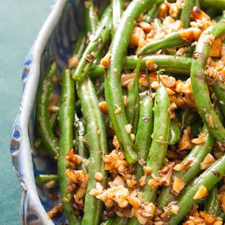 Walnut Green Beans Garlic Recipes