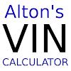 Altons VIN Calculator