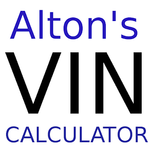 Cover art Altons VIN Calculator