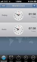 Screenshot of Espier Clock