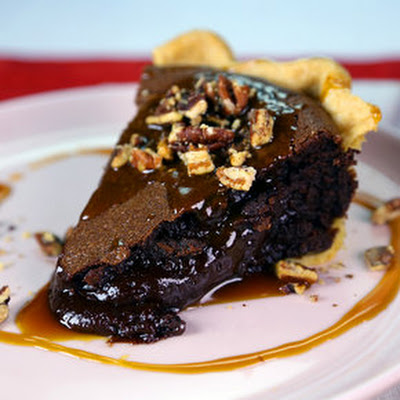 Chocolate Lava Pie