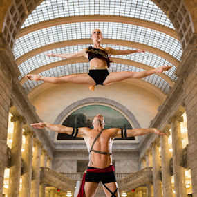 by David Terry - People Couples ( dancers, acrobatics, acro-dance )