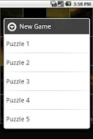 Screenshot of Art Puzzles