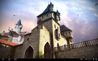 Screenshot of Castle 3D Pro live wallpaper