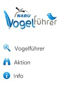 Screenshot of NABU Vogelführer