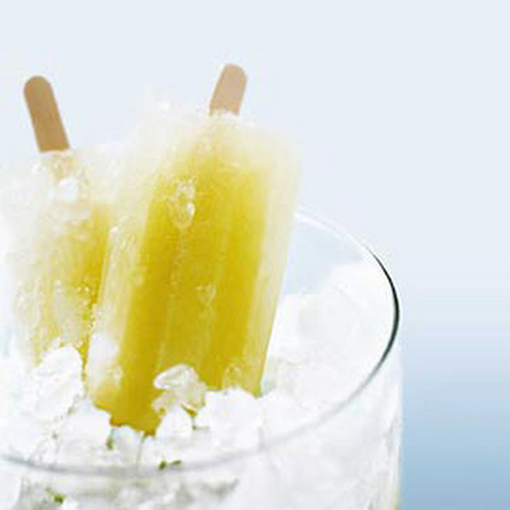 Honeydew Lime Popsicles