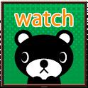【無料】くま吉くん デジタル時計ウィジェット icon
