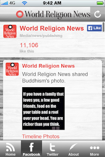 World Religion News - screenshot