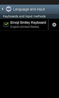 Screenshot of Emoji Smiley Keyboard
