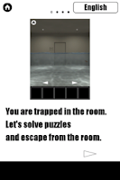 Screenshot of SUNKEN ROOM -room escape game-