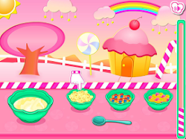 Screenshot of Popcorn Candy Cake