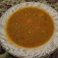 Vegetarian Split Pea Soup