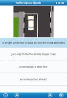 Screenshot of Basic Theory Test Lite