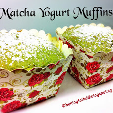 30 minutes Healthy Matcha Yogurt Muffin